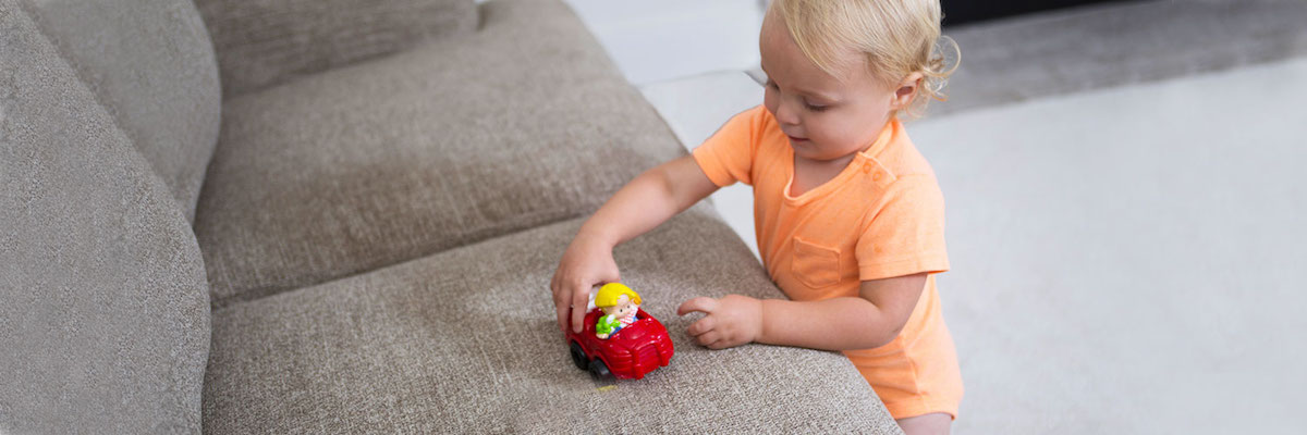 Quality Upholstery Cleaning Services by Chem-Dry Select in Arlington WA are safe for kids